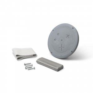 Diaflex slanggenomföring för diskmaskin