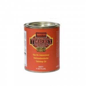 TIMBEREX olja för bänkskivor